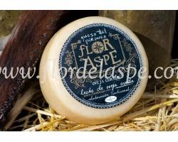 Medio queso de oveja curado 370 g-Flor del Aspe