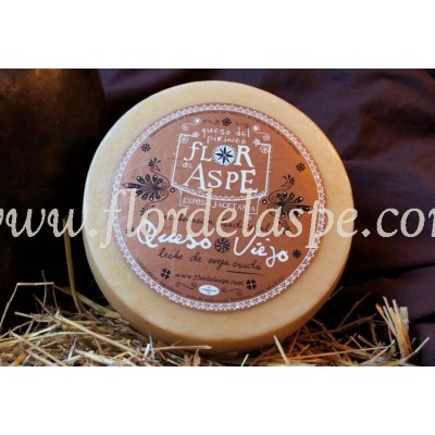 Queso Viejo Oveja  3 Kg- Flor del Aspe