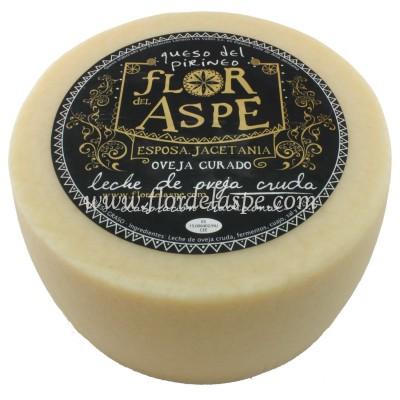 Queso de Oveja 3 Kg Leche Cruda - Flor del Aspe