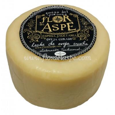 Queso de Oveja 500 gr Leche Cruda - Flor del Aspe