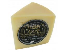 Cuña de queso de oveja curado 370 g.  -Flor del Aspe
